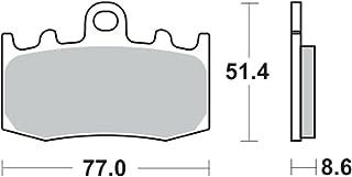 /92/R 850/C 97/ / /99/R 1200/00/ /00/R 1100/GS 93/ Un Xin 1/Coppia pastiglie Freno Anteriore 100.10/x 57.20/x 8.40/mm per BMW K 100/RS 89/