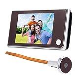 Videoportero Digital Con Monitor A Color De 3.5 Pulgadas, Cámara De Seguridad, Visor De Mirilla De 120 Grados, Sistema...