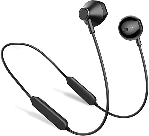 41Bt2eCN4eL. SL500  - Bluetooth Headphones,GUSGU Bluetooth 5.0 Wireless Headphones with Microphone Waterproof Running Headphones,HD Stereo Bluetooth Wireless Earphones for Workout,Running,Gym (Comfy & Fast Pairing)