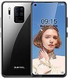 OUKITEL C18 PRO (2020) Smartphone ohne Vertrag günstiges,6,55 Zoll Smartphone,Helio P25 Octa Core 4GB+64GB,4000mAh,16MP+8MP+5MP+2MP Kamera,Dual SIM Handy Android 9.0, WLAN 5G,Fingerabdruck,Face ID