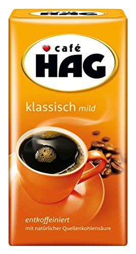Cafe Hag entkoffeiniert, gemahlen - 500gr - 4x