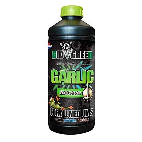 Fertilizante GARLIC Especial para Cultivos de Cannabis y Marihuana. Mejora su Crecimiento y Floración. No Sulfurada. Producto CE. 1 Litro