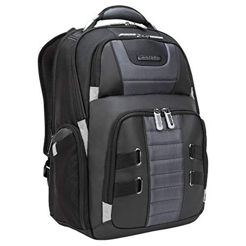 Targus DrifterTrek Laptop Rucksack für 15,6-17,3' Notebooks, Business Rucksack mit Durchführung für USB-Stromversorgung, Reiserucksack mit ergonomischem Rückenteil...