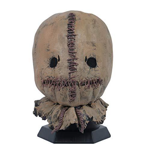 WWWL Mscara de Halloween Cosplay Mscara de terror, accesorio de disfraz de Halloween para adultos
