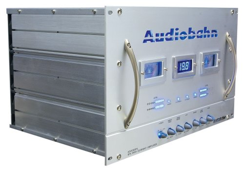 Review Audiobahn Amplifiers A5000SPL High Current Power Plant 5 Channel Car Amplifier