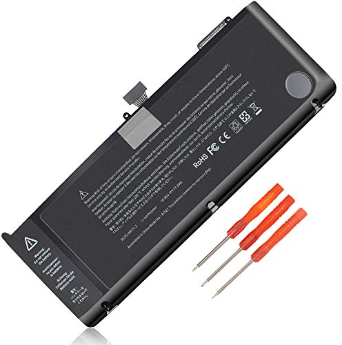 LXHY A1321 10.95V 77.5Wh Laptop Battery, Compatible with Apple MacBook Pro 15' inch A1286(Mid 2009 Mid 2010 Version), MB985 MB986J/A MB986CH/A MC118 MB986 661-5211 020-6380-A 020-6766-B Replacement