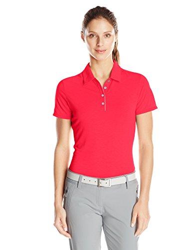 adidas Golf Damen Essentials Short Sleeve Polo, Damen, Ray Red, X-Small