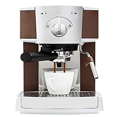 Coffee Machine Commercial Commercial Semi-Automatic Steam Coffee Maker Coffee Grinder Coffee Container Smart Grinder