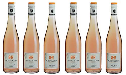 6x 0,75l - 2020er - Balthasar Ress - Pinot Noir Rosé - trocken - VDP.Gutswein - Rheingau - Deutschland - Rosé-Wein trocken