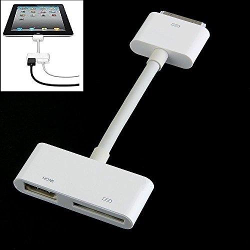 Adaptador Cable TV AV Dock conector a HDMI HDTV para iPad 2iPhone 44S