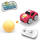 SQN R/C Mini Remote Control 2.4Ghz RC Magic Induction Obstacle Hand Control Follow Car Toy Birthday for Kids Toddlers Boys and Girls Age 3 4 5 6 7 Year Old