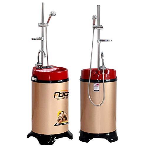 ZNDDB Douche Portable - Douche De Stockage d'eau Thermostatique Mobile, Chauffe-Eau Électrique, Douche Domestique, 120L / 220V / 2000W, Stérilisation Saine
