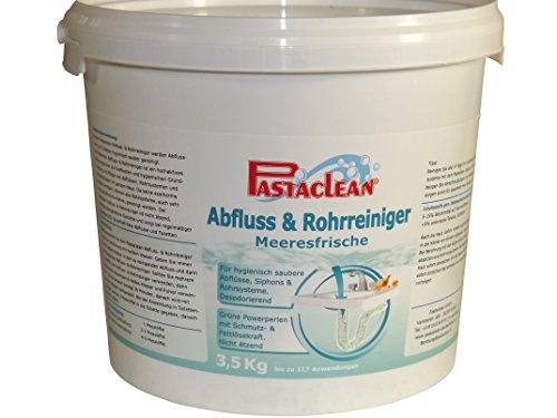 Pastaclean Rohrreiniger Abflussreiniger mit DUFT WC-Reiniger 3,5 Kg (Meeresbrise)