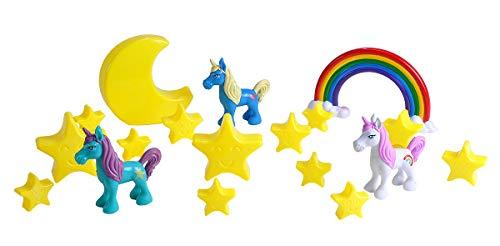 Wild Republic Unicorn Bucket  Kids Gifts  Unicorn Gifts  Fantasy Figures  Unicorn Toys  Kids Gifts  18-Piece