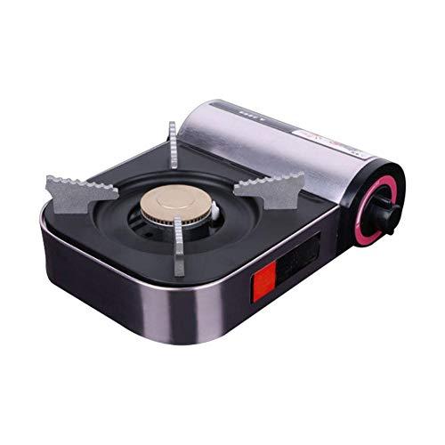 precauti estufa de gas butano portátil horno de cassette mini estufa de aluminio portátil al aire libre utensilios de cocina para ollas pequeñas barbacoa esencial kit de juego de fogata