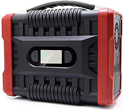 UKing Accumulatore di Energia,222Wh 60000mAh Generatore Solare Portatile con DC AC Inverter e LCD Display, Caricato dal Pannello Solare Presa a Muro per Campeggio, CPAP Backup di Emergenza