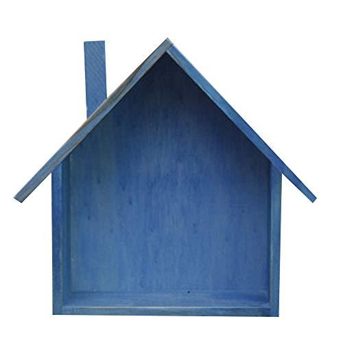 FinWell Storage Shelf Nordic Style Wooden Retro Village...