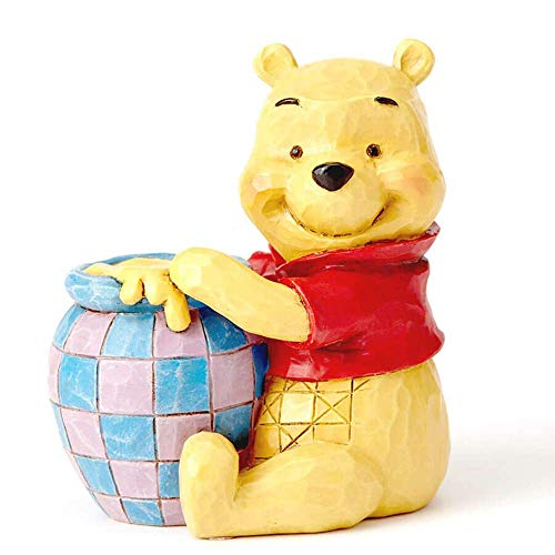 Disney Tradition Winnie The Pooh With Honey Pot Mini Figur