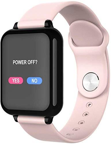 SmartWatch met hartslagmonitor, waterdicht horloge met slaapmonitor, Calorie Step Counter Watch-3 kleuren