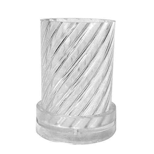 FYBlossom Silikonform Kerzen Gießform, DIY Stereo Kerzenform Seifenform 3D Kreative Kerzen-Form Aus Silikon Süßigkeiten Kuchen Formen Box Für Aroma Gips Seife Formen (Stil A.)