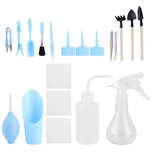 Long Service Life, Lightweight, ABS, Convenient, Blue, Succulent Planting Tools, Planting Tools, for Succulent Plants Bonsai Plants Watering Digging(blue)