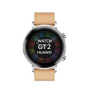 "Huawei Watch GT 2 - Smartwatch con Caja de 42 mm, hasta 1 Semana de Batería, Pantalla táctil AMOLED 1.2"", GPS, 15 Modos Deportivos, Pantalla 3D de Cristal, monitorización cardíaca, Rojo 3"