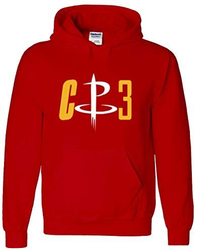 RED Houston Paul CP3 Logo Hooded Sweatshirt Youth
