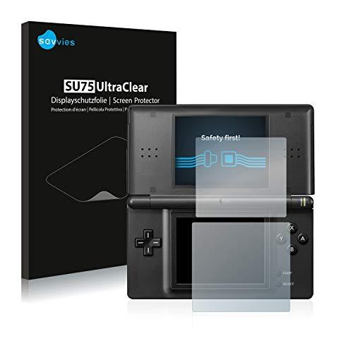 Savvies 18x Schutzfolie kompatibel mit Nintendo DS LITE Displayschutz-Folie Ultra-transparent