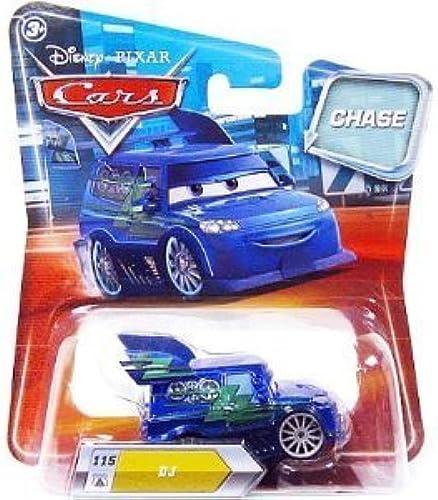 Disney   Pixar CARS Movie 155 Die Cast Car with Lenticular Eyes Series 2 DJ Metallic Finish Chase Piece  by Disney