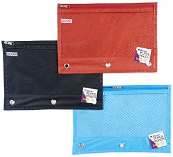 24-Pack Charles Leonard Pencil Pouch for Binder