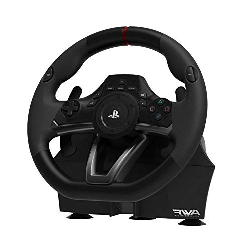 HORI Racing Wheel Apex For Sony PlayStation 4, 3 and PC Black Nowak Technology