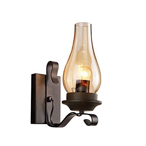 Einfach Kreativ Wandleuchte Vintage Antik Nostalgie Innen Design Wandlampe Rund Weiß Glas Lampenschirm Lampenfassung Rustikale Wandleuchte Antik Wirkende