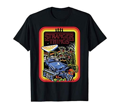 Stranger Things Day Retro Poster Camiseta
