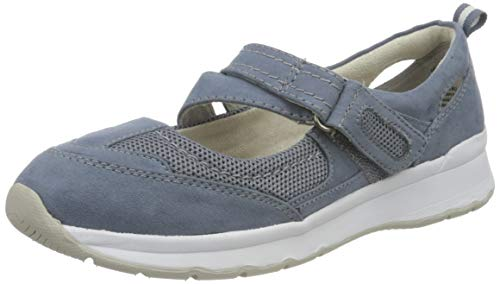 Jana Softline Damen 8-8-24663-26 802 Slipper, Blau, 40 EU
