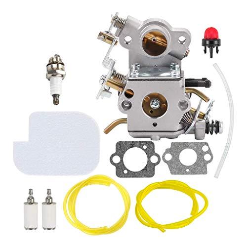 MAGELIYA Carburador C1M-W26 con Filtro de Aire 530057925 Kit de Ajuste del Filtro de línea de Combustible
