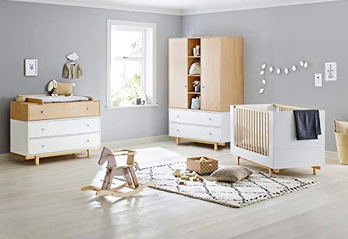Pinolino 103403BY Boks - Habitación infantil con 3 puertas, color gris
