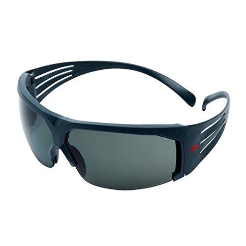 3M SF611AS Gafas de Seguridad, Montura gris, 1 unidad/caja