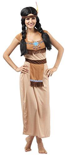 P'tit Clown - 86763 - Costume Adulte Indienne - Taille Unique