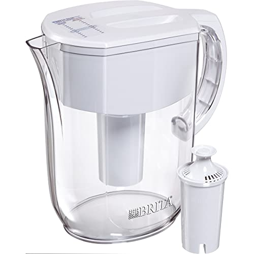 Brita Standard Everyday Water Filter Pitcher, White, Large 10 Cup, 1...