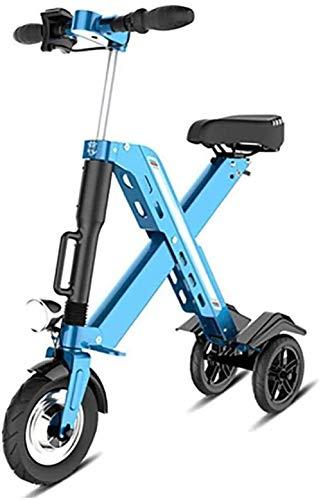 Woodtree Bicicleta Plegable eléctrica, for Adulto Mini eléctrica Plegable Bici del Coche...