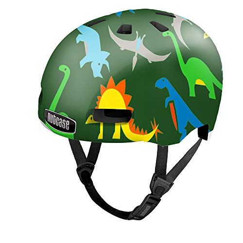 Nutcase Baby Nutty-Dyno Mite Unisex-Helm, Mehrfarbig, XXS