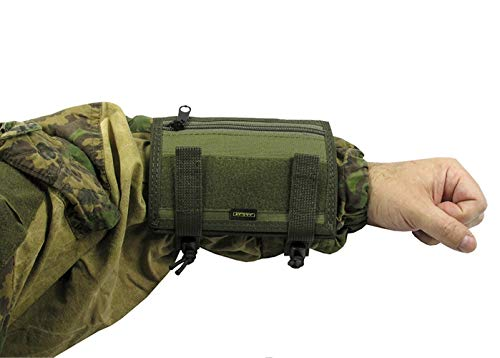 Russian Pouch case for MAP Tactical Papper on arm Tablet Hand (Olive od Green)