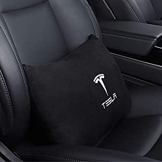 Automobiles Seat Covers - New Headrest Breathable Neck Pillow Head Support Neck Travel Pillow Compatible for Model S Model...