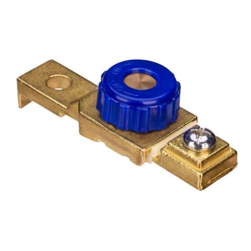 heacker Motorrad-Batterie Cut Off-Schalter Klemme 12V Batterieklemme, Motorrad Anti-Leckage-Schalter Auto-Seiten-Pfosten Batterietrennschalter DC12V 80A