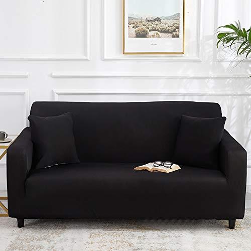 WXQY Funda de sofá elástica Gris Bien empaquetada Funda de sofá con Todo Incluido Funda de sofá de Sala de Estar Funda de sofá Silla Funda de sofá sillón A4 1 Plaza