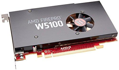 AMD FirePro W5100 4GB GDDR5 - Grafikkarten (FirePro W5100, 4 GB, GDDR5, 128 Bit, 4096 x 2160 Pixel, PCI Express x16 3.0)