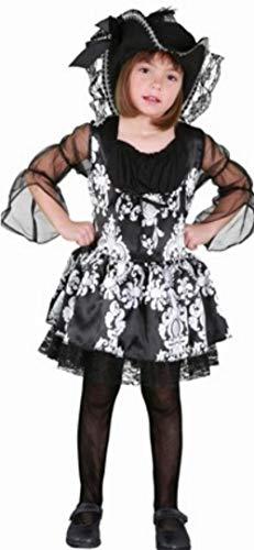 Disfraz de Lady Pirata Para Niñas de 7-9 Años