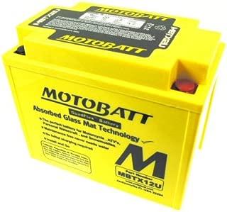 Universal Parts 104-35 MotoBatt Quadflex Battery 12v 12ah