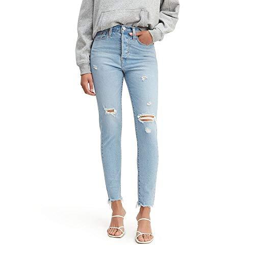 Levi's Women's Wedgie Skinny Jeans, Arctic Tundra, 27 (US 4)