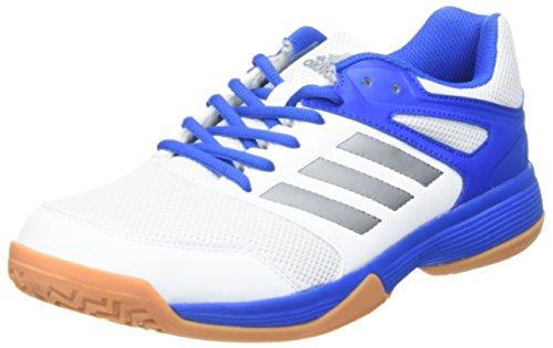 adidas Herren Speedcourt M Fitnessschuhe, Weiß (Ftwbla/Nocmét/Azul 000), 48 2/3 EU